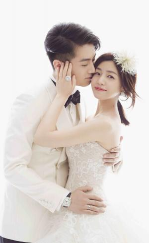 陈晓和陈妍希大婚:甜蜜婚纱照及婚礼上的那些事