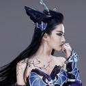 明星360刘亦菲聂小倩形象公开,浓妆艳抹也很美,看到正面谁扛得住?